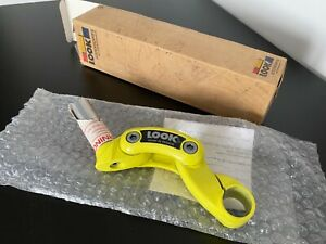 "Look Ergostem Yellow Quill 1"" 26mm Clamp NOS"