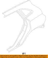 Lincoln FORD OEM 15-16 MKC-Quarter Panel Rear Fender Left EJ7Z7827841A