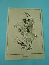 Pascaline caricature Print Humour 1909