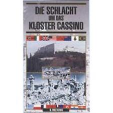 Die Schlacht um das Kloster Cassino VHS Video Montecassino Wehrmacht Weltkrieg