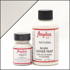 Angelus Natural acrylic leather paint 1 oz. bottle
