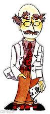 "4"" LORALIE DOCTOR NURSE CENTRAL DR BALD MAN  HOSPITAL FABRIC APPLIQUE IRON ON"