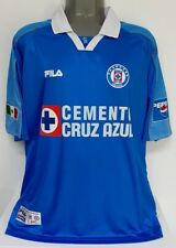 FILA CRUZ AZUL MEXICO LIBERTADORES 2001 MATUTE XL ORIGINAL JERSEY SHIRT