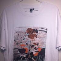 Alexander McQueen Designer White T-shirt Size L