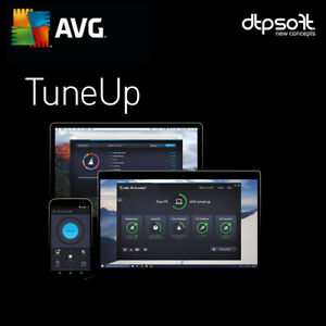 AVG PC TuneUp 2021 3 PC 3 Devices 1 Year License PC 3 users Tune Up US