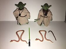 Star Wars the Black Series Yoda Blue Line 06  and Yoda Archive Edition Lot