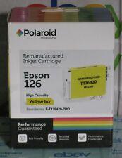 Epson 126 Amarillo Alta Capacidad T126420 Cartucho de inyección de tinta Polaroid Remanufactured