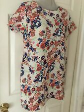 Ax Paris At New Look - Floral Tunic Dress - Size 10 NWOT