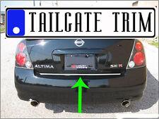 Chrome Tailgate Trunk Molding Trim - Niss