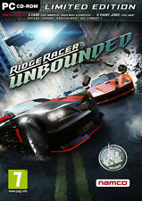 Ridge Racer Unbounded, Limited Edition, PC, Vollversion mit DVD, NEU & OVP