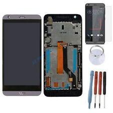ECRAN LCD + VITRE TACTILE SUR CHASSIS BLOC COMPLETE POUR HTC DESIRE 530 GRIS
