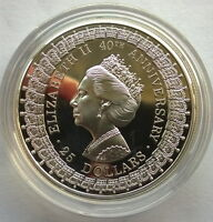 Australia 1992 Princess Margaret 25 Dollars 1oz Silver Coin,Proof