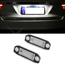 2Pcs Car LED License Plate Lights Lamps For Volvo S80/XC90/S40/XC60/S60/V70/V50