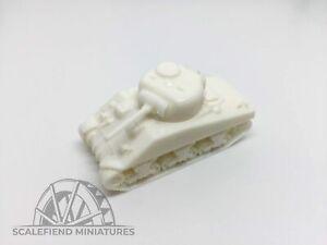 1/144 10mm M4 Sherman tank