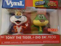 Funko Vynl Ad Icons Tony The Tiger + Dig Em' Frog 2pk Vinyl Figure - NEW