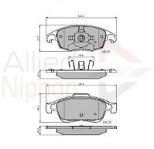 Peugeot Partner 2008- Citroen C4 DS4 Picasso Berlingo Front Brake Pad Set ATE