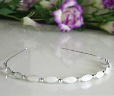 Silver Luxury & Gorgeous Headband Hairband Hair Accessories Jewel Bridal HB29
