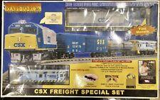 MTH RailKing CSX Diesel Freight O Scale Train Set Ready To Run