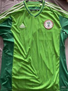 Nigeria Football Shirt XL Adidas