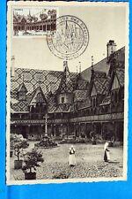 HOTEL DIEU DE BEAUNE COTE D OR  FRANCE CPA Carte Postale Maximum  Yt 499 C