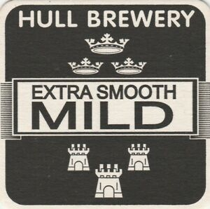 BEERMAT - HULL ELSCAR BREWERY - EXTRA SMOOTH MILD - (Cat No 002) - (2000)