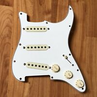2006 Fender American Strat PIO Loaded PICKGUARD USA Guitar Pickup Set Prewired
