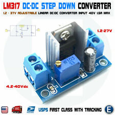 LM317 DC-DC Converter Adjustable Linear Regulator Step Down Circuit Board Power