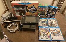 Nintendo Wii U Console - Black + Lot Games