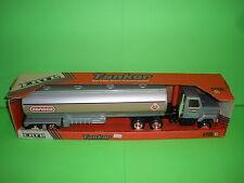 CONOCO TANKER TRUCK Pressed Steel / ANTIQUE 1980's / 1/27th / 20