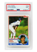 Wade Boggs (Boston Red Sox) 1983 Topps Baseball #498 RC Rookie Card - PSA 9 MINT