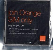 VECCHIO ARANCIONE 2G CELLULARE SIM CARD metti per VINTAGE & Retrò 2G Telefoni