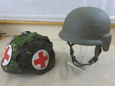 Dinamarca Army paramédicos kevlar paracaidista CGF Gallet Combat Helmet Medic