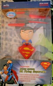 Superman Motion Control RC Flying Superman New In Box