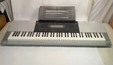 CASIO WK-220 Keyboard + Stand + Power Adapter EXCELLENT