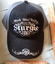 Sturgis 75th anniversary hat 2015 motorcycle rally collectible biker souvenir