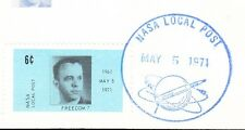 Space NASA Local Post 6c Tied 1st Man Alan Shepard 1971 Unaddressed Cover 5y