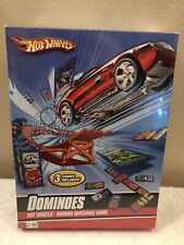 New Hot Wheels Dominoes Domino Matching Game Sealed