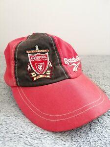 Liverpool FC Reebok Cap 1996 Vintage Hat
