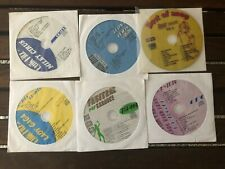 6 Cdg Karaoke Discs Girl Pop Miley Cyrus Lady Gaga Leona Lewis Black Eyed Peas.