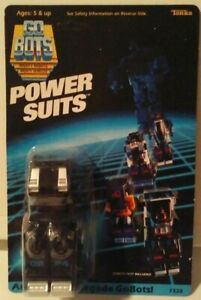 Tonka GoBots Power Suits Armor For Renegade GoBots GB P4 Unpunched Card New MISB