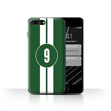 STUFF4 Case/Cover for Apple iPhone 7 Plus/Racing Car Stripes/Jaguar/Green