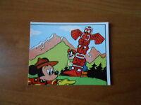 figurina MICKEY STORY n.231 - ed. PANINI 1978 - completa di velina