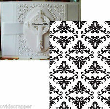 Crafts Too Embossing Folders DAMASK Cuttlebug compatible folder CTFD3028 wedding