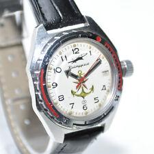 Vostok amfibia 17 Jewels rusa reloj pulsera impermeable Commander's relojes