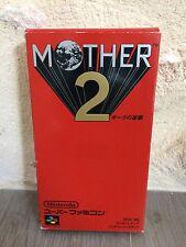 Mother 2 Earthbound Super Famicom NES Nintendo SNES en Boite JAP NTSC