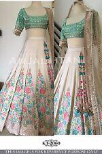 New Designer Bollywood Lehenga Choli Party Traditional Wedding Bridal Lehenga