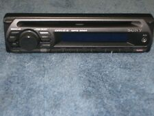 SONY xplod  CDX-GT210   FACEPLATE  aux mp3 very clean vintage