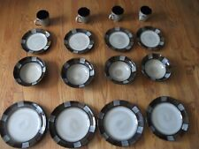 Pfaltzgraff 16 pc Dinnerware Set Service for 4 Stoneware Dishes NEW w/ box 1x874