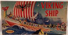 Marittimi: RARE VIKING shiip KIT modello fatta dall' Aurora nel 1957 (mlfp)