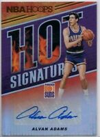 2018 Panini NBA Hoops Hot Signatures #HS-AAD Alvan Adams Phoenix Suns Auto Card